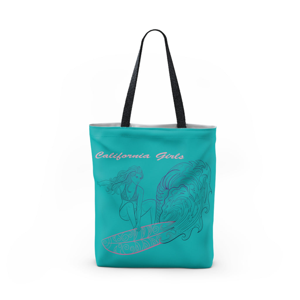 California Girls Made in USA Best Beach Tote Bag-PoHuLocal