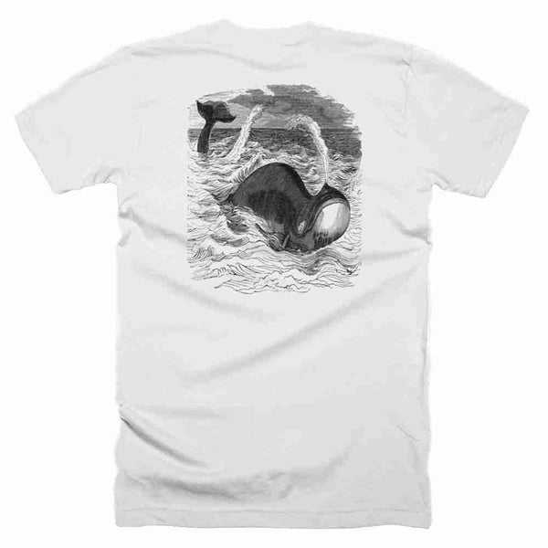 Short Sleeve Unisex t-shirt with Whale - PoHuLocal