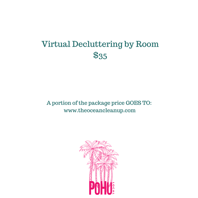 Virtual Decluttering by Room