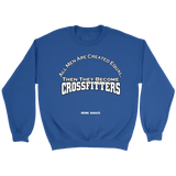 Crossfit Crewneck Sweatshirt - All Men Created Equal