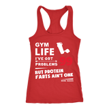 Protein Farts Racerback Tank - 99 Problems