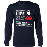 Crossfit Sore Muscles Long Sleeve