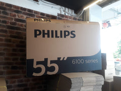 55 Inch Philips LED Used TV BOX