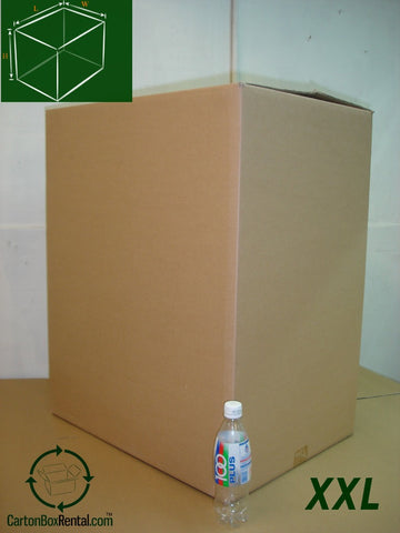 New XXL Carton Box : 62cm(L) x 46cm(W) x 76cm(H)