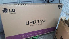 Flat Screen LED TV (usedcarton) BOXES 50''