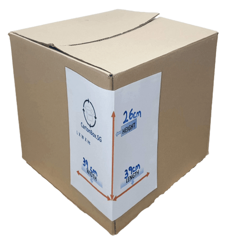 New Document Carton Box : 39cm(L) x 39cm(W) x 26cm(H)