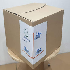New Document Carton Box : 39cm(L) x 39cm(W) x 26cm(H) - CartonBox.Sg