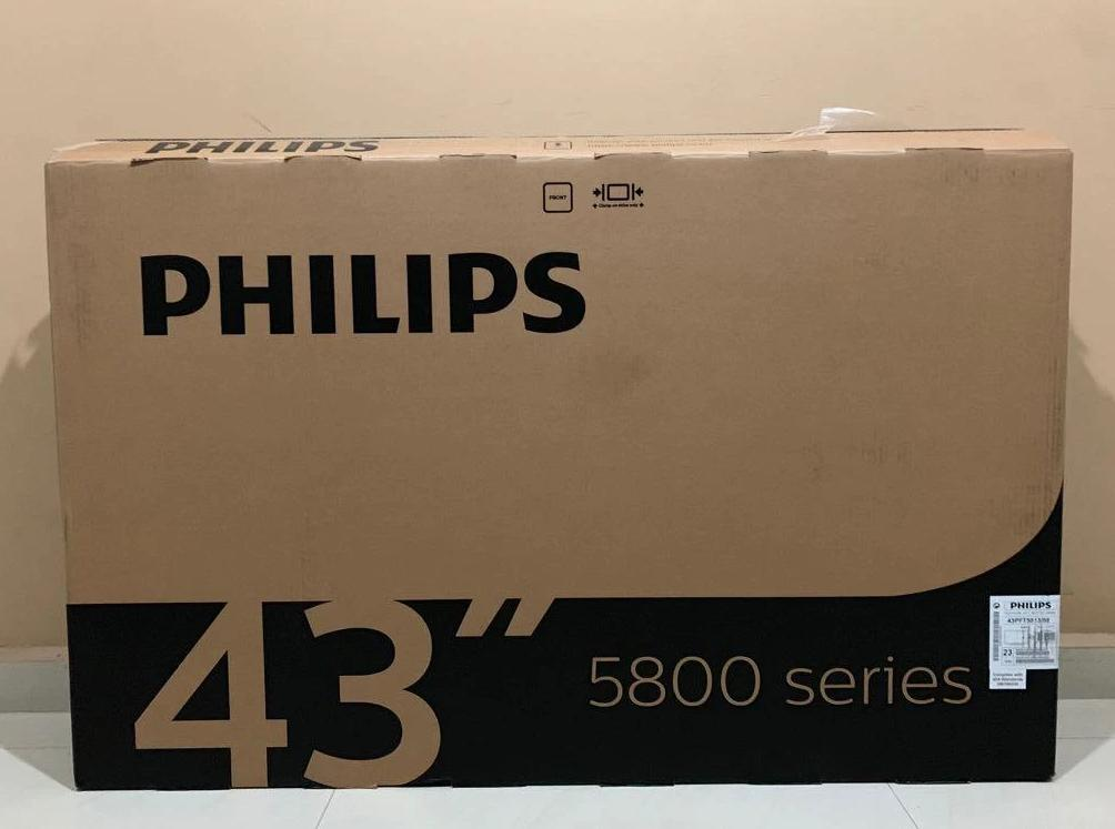 43 Inch Philips Used TV BOX