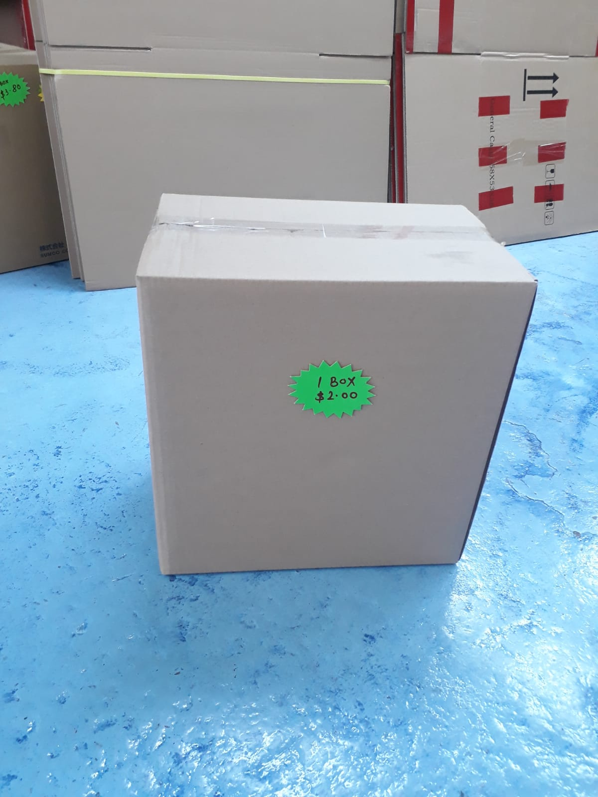 New Carton Box Small  (S) Size 38x26x39cmH - CartonBox.Sg
