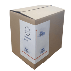New Standard Carton Box  : 50cm(L) x 38cm(W) x 38cm(H)-Bundle of 10pcs *