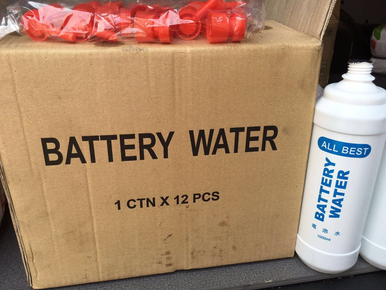 Battery Water  1Can
