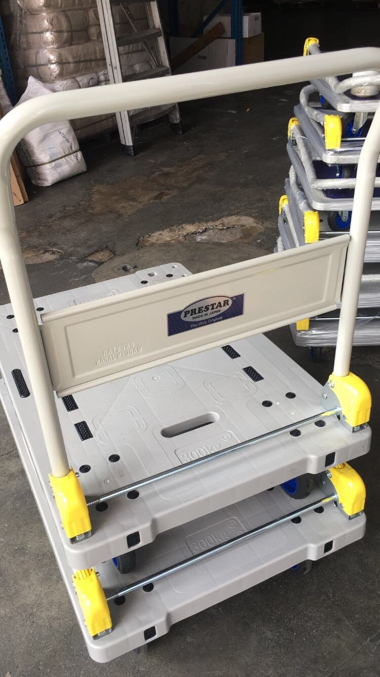 Prestar Trolley | Weight Load Capacity :300KG - CartonBox.Sg