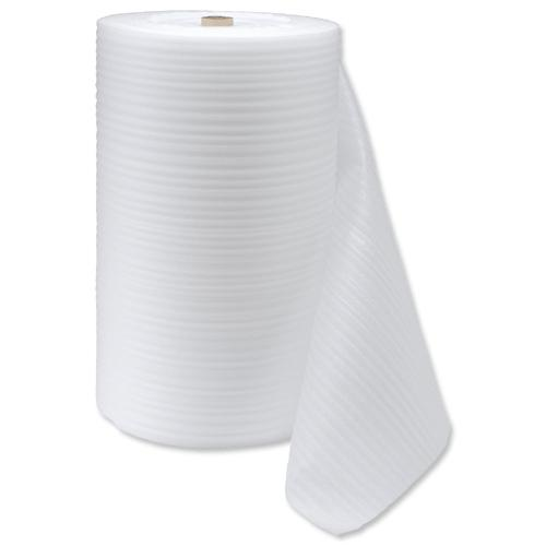 PE Foam Roll White - 10m (L) x 1m (W) x 1mm (Thickness)