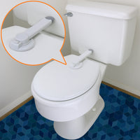 Baby Toilet Lock by Wappa Baby - Ideal Baby Proof Toilet Lid Lock with Arm