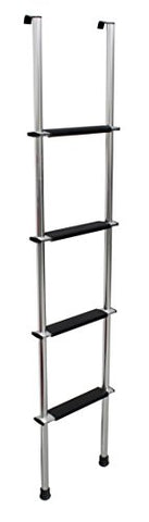 "Quick Products QP-LA-460S RV Bunk Ladder, 60"" - Silver"