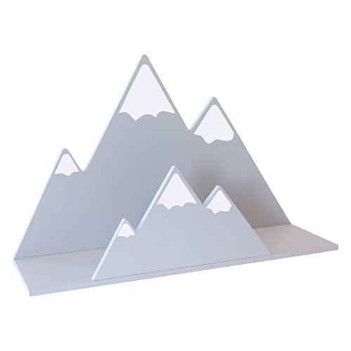 Trend Lab Gray Mountain Wall Shelf