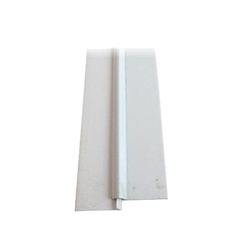 "1-1/8"" X 36"" White Aluminum Door Sweep"