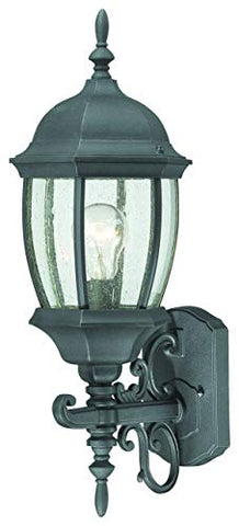 Thomas Lighting SL92257 Covington Outdoor Wall Lantern, Black (Renewed)