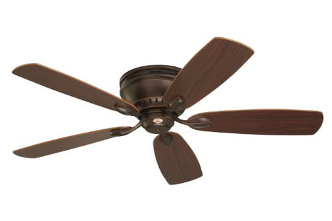 (Very Slight Damage) Emerson Ceiling Fans CF905VNB Prima Snugger 52-Inch Low Profile Ceiling Fan With Wall Control, Light Kit Adaptable, Venetian Bronze Finish