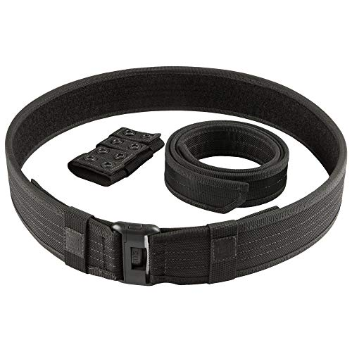"5.11 Tactical Sierra Bravo Plus 2.25"" Duty Belt, Black, 3X-Large"