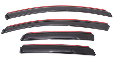 Auto Ventshade 194389 In-Channel Ventvisor Window Deflector, 4 Piece