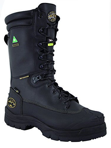"Oliver 65 Series 10"" Leather Puncture-Resistant Waterproof Men's Steel Toe Minin"