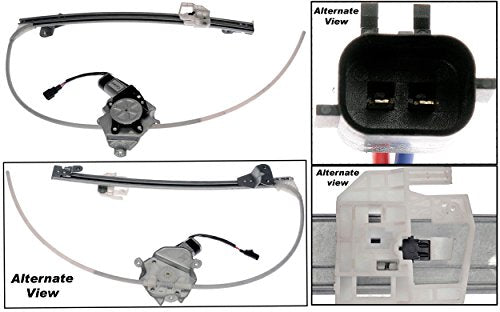 APDTY 859682 Power Window Regulator and Motor Assembly Rear Left (Driver-Side) Fits 2006-2007 Jeep Liberty (2006 Models Produced Afrer 2/25/06) (Replaces 4589267AC, 4589267AB)
