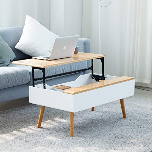 Lift Top Coffee Table Hidden Storage Coffee Table for Living Room Furniture
