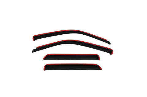 Auto Ventshade 194249 Rear In-Channel Ventvisor Deflector - 4 Piece