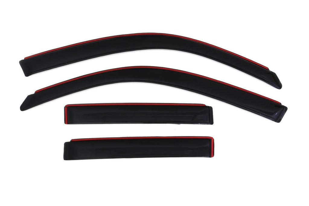 Auto Ventshade 194924 Rear In-Channel Ventvisor Deflector - 4 Piece