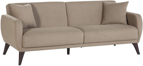 NEW LOWER PRICE! BELLONA Functional Sofa in A Box (Taupe)