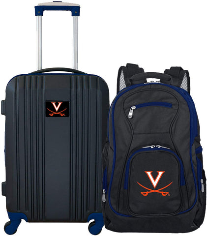 NCAA Virginia Cavaliers 2-Piece Luggage Set