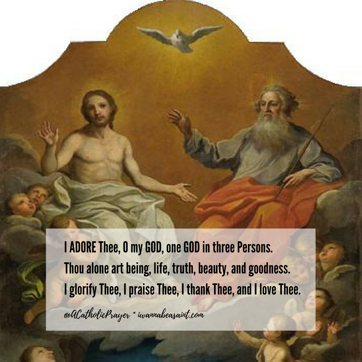 Prayer to the Holy Trinity