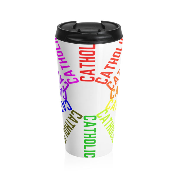 Catholic! Stainless Steel Travel Mug
