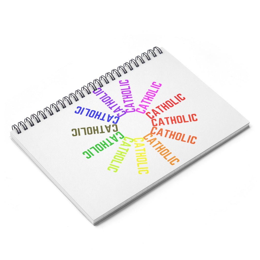 Catholic! Spiral Notebook - Ruled Line