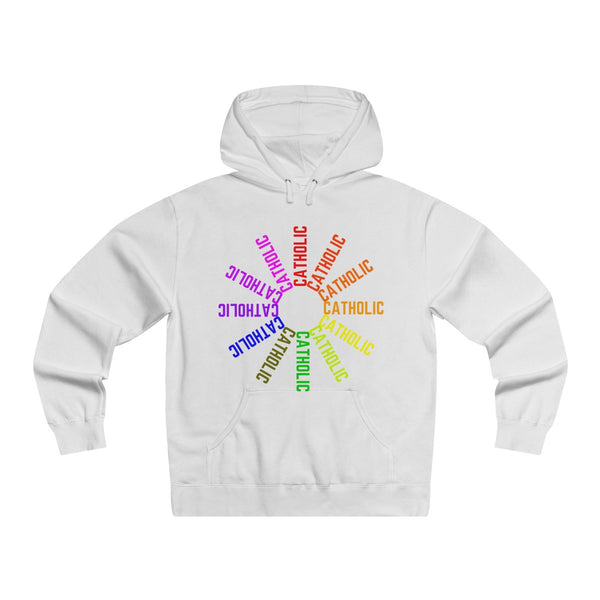 Catholic! Lightweight Pullover Hooded Sweatshirt