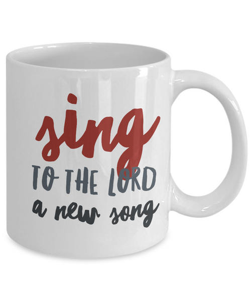 Sing to the Lord Mug