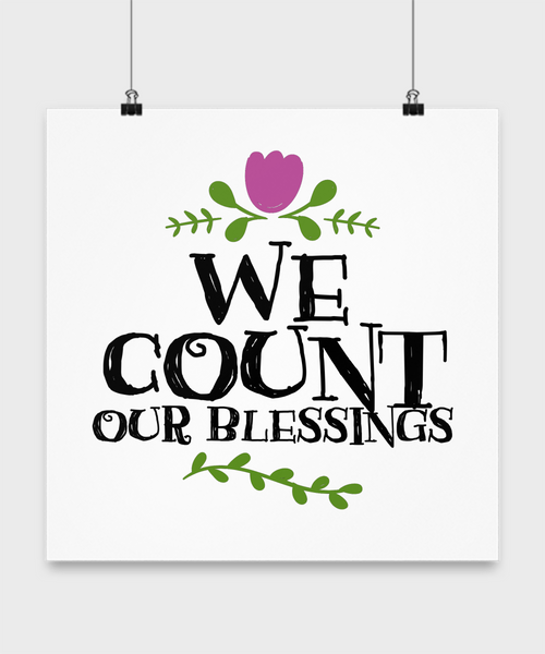 We Count Our Blessings