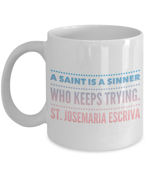 A Saint Is a Sinner Blue to Pink Mug