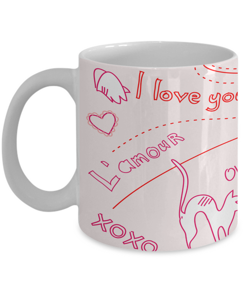 L'Amour Love is Grand Mug