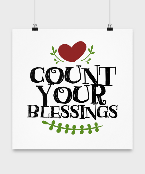 Count Your Blessings Poster