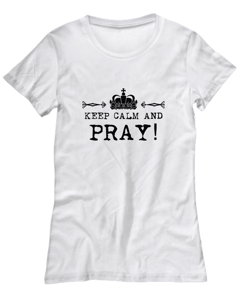 Keep Calm and Pray Shirt