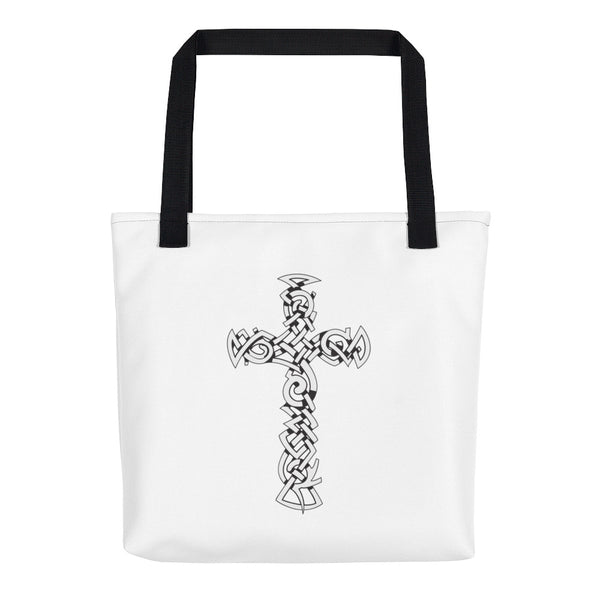 """Carrying the Cross"" Tote bag"