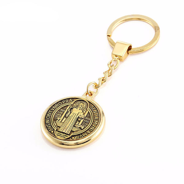 Saint Benedict Medal Key Chain