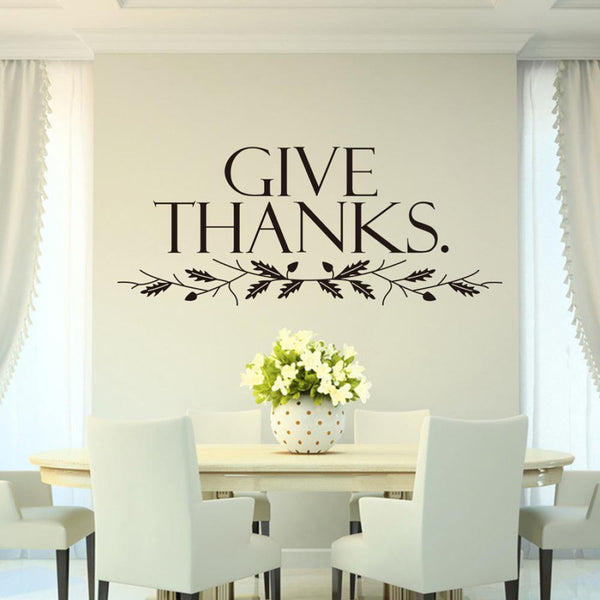 """Give Thanks"" Wall Art"