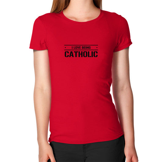 Women's T-Shirt Red iwannabeasaint