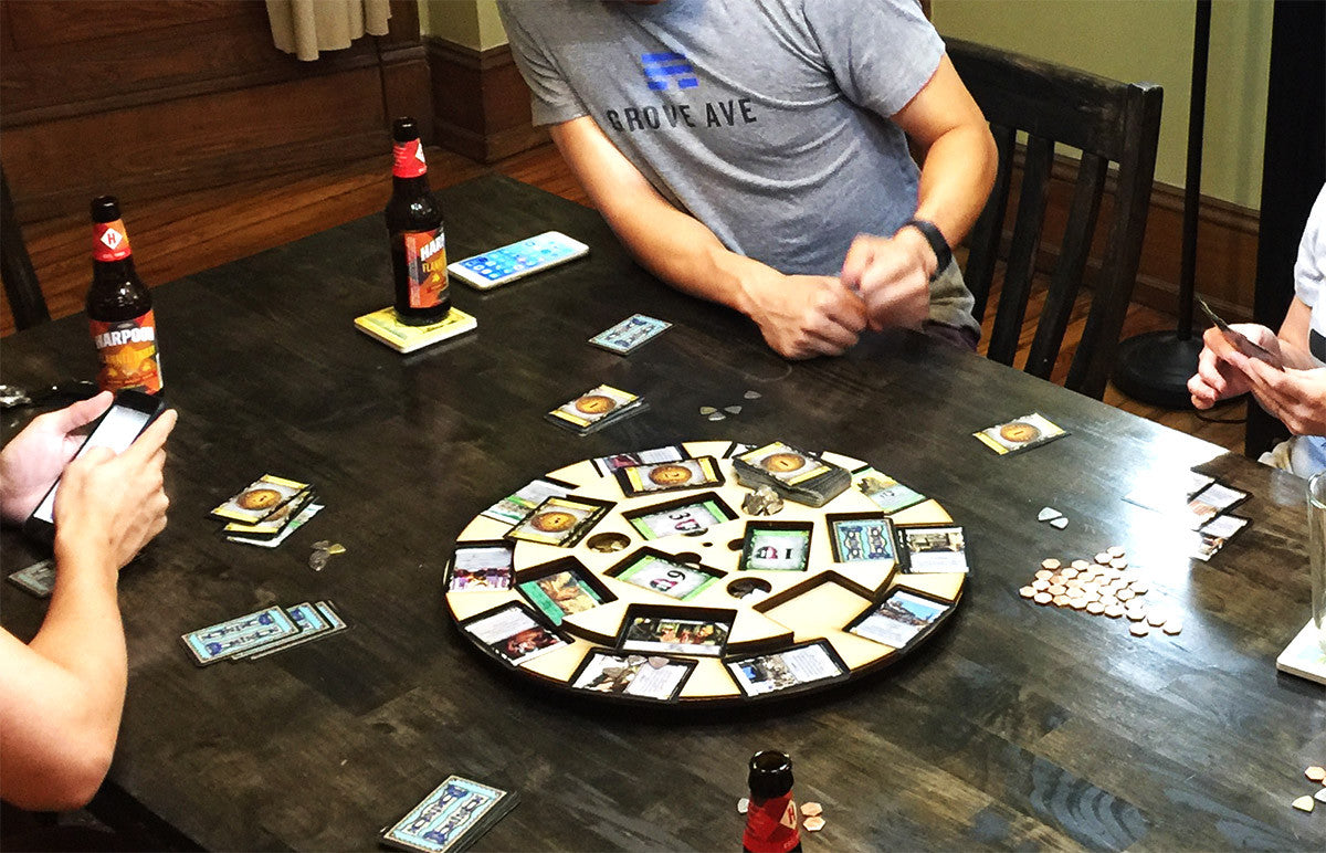 Board Games - Playing Dominion