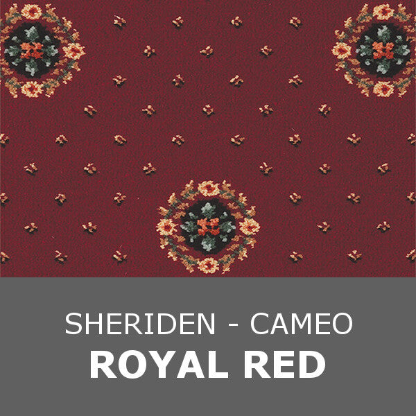 Ulster Sheriden - Cameo Royal Red 10/2461