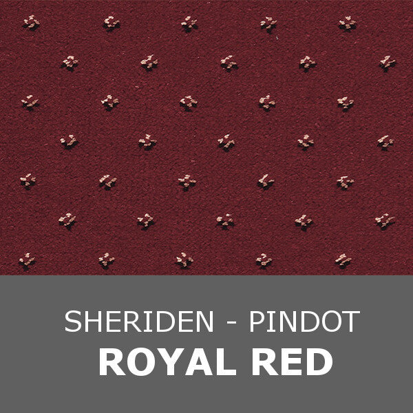 Ulster Sheriden - Pindot Royal Red 10/2462