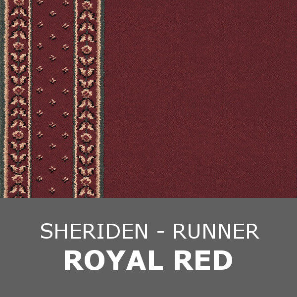Ulster Sheriden - Runner 0.69m Royal Red 10/2605